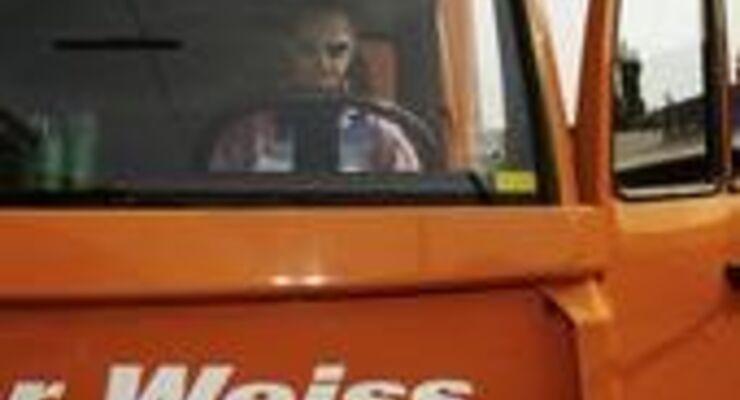 Weiss fährt in Tschechien für Hellmann