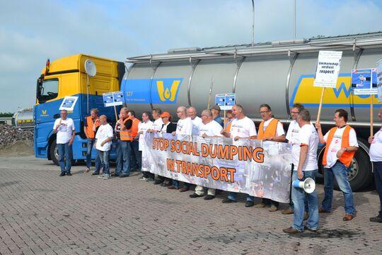 Wemmers, Lkw, Niederlande, Ruhezeit