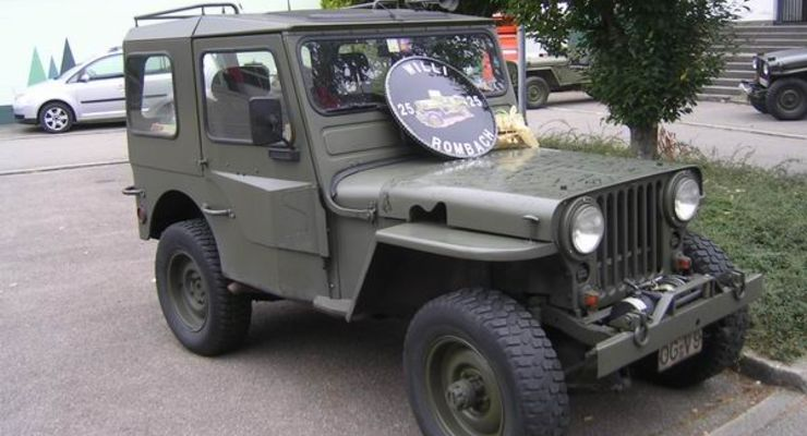Willys Jeep, Ford GPW, Hotchkiss, Willy Rombach, Oberharmersbach, Autosammlung Steim Schramberg