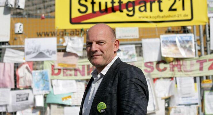Winfried Hermann, Stuttgart 21, Verkehrsminister