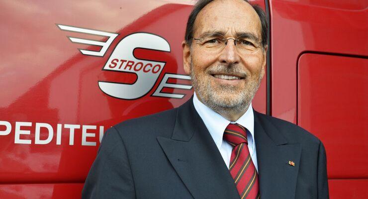 Wolfgang Stromps, Geschäftsführer Spedition, Vorsitzender VSL NRW