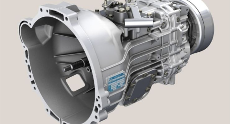 ZF Ecolite-Getriebe.