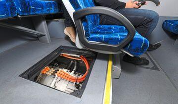 ZF Friedrichshafen, Testgelände, Bus mit Cetrax Getriebe