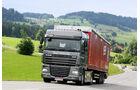 ZF Traxon Hybrid, Bergauf, DAF