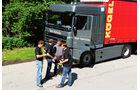 ZF Traxon Hybrid, Probefahrt, Hybrid-Antrieb