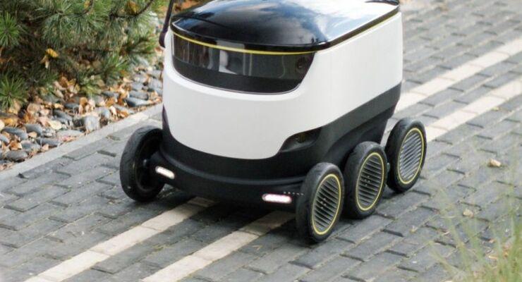 Zustellroboter Hermes Starship Technologies