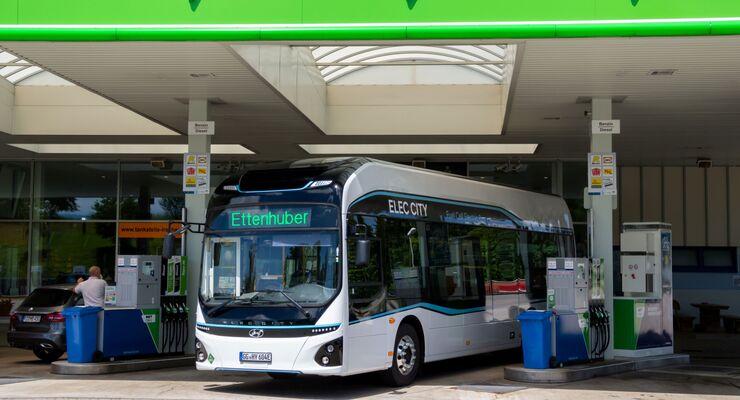 München testet Wasserstoff Bus