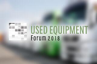 UEF 2018: Das Programm zum Used Equipment Forum 2018