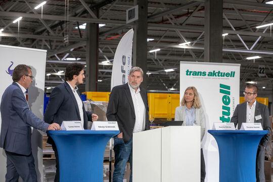 v. li.: Carsten Hemme, Nikolaja Grabowski, Sascha Hähnke, Christine Hemmel, Matthias Rathmann